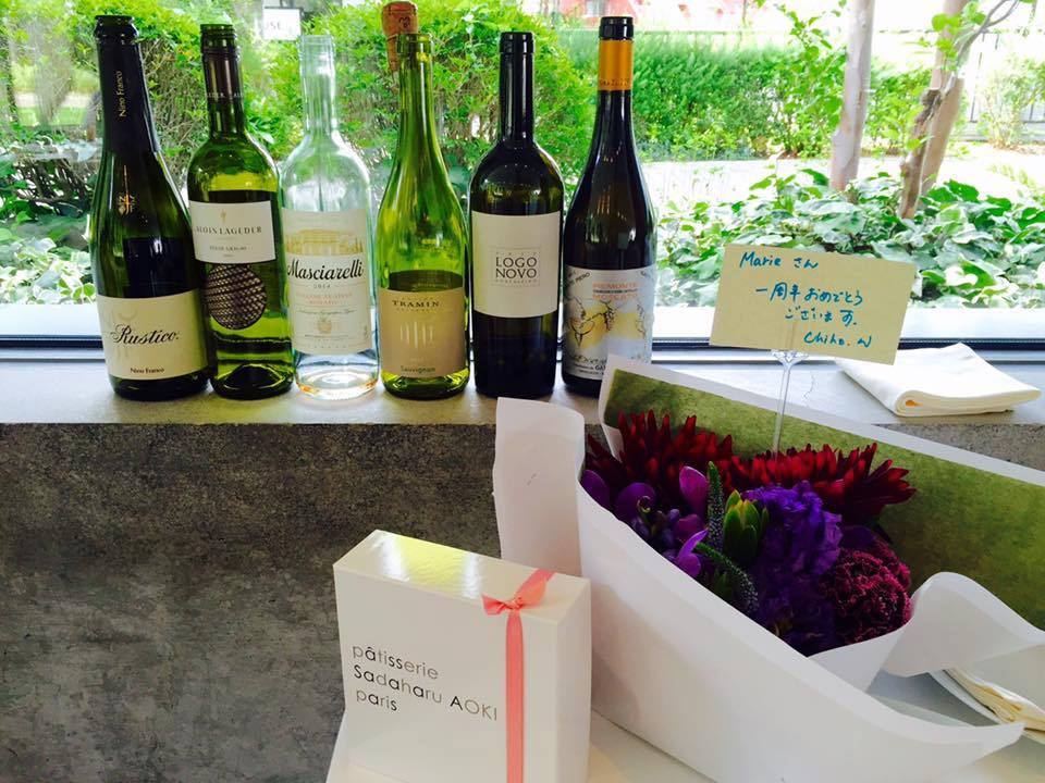 ステラマリー株式会社設立1周年ワイン会
