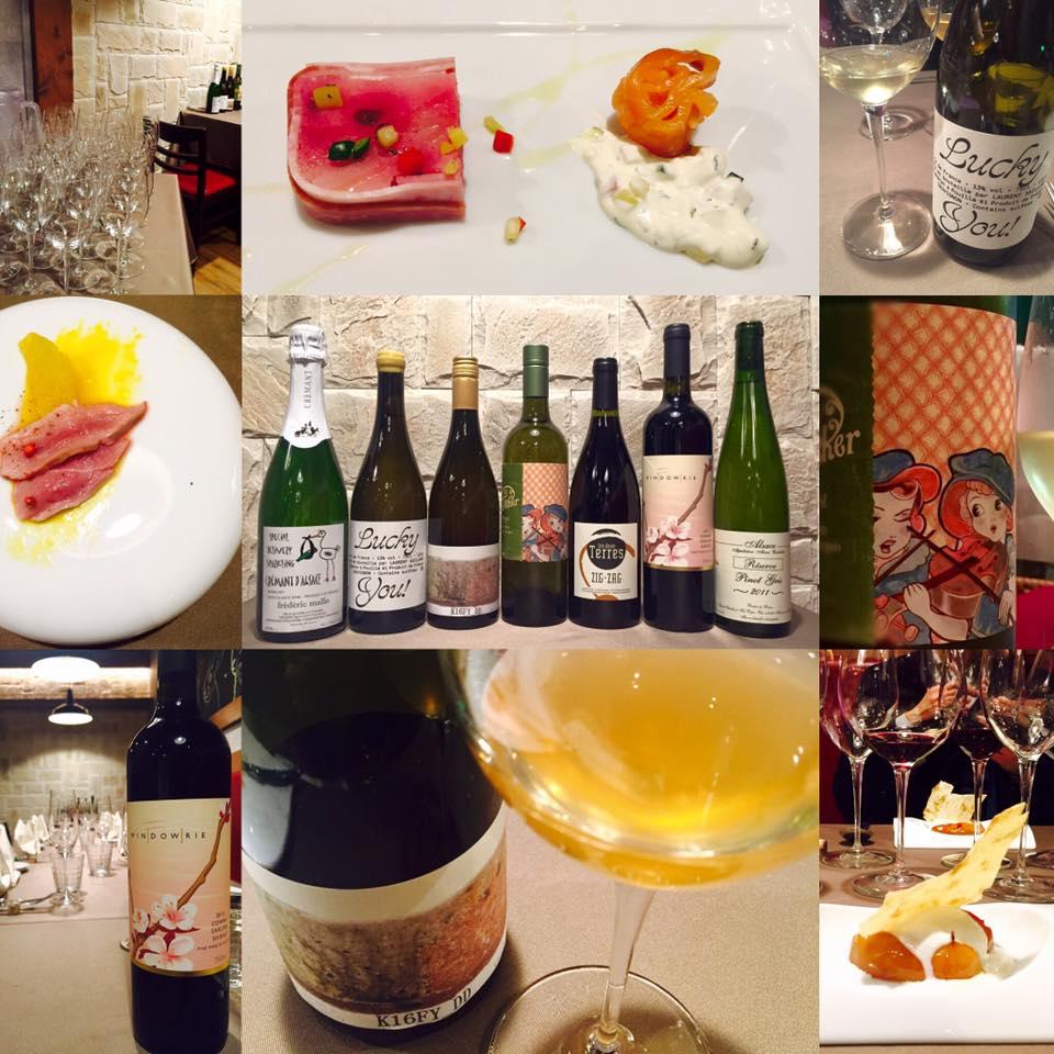 ステラマリー☆ワイン会Vol.40「自然派ワイン de マリエージュ」