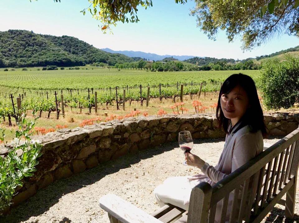 Tasting at Stags' Leap Winery