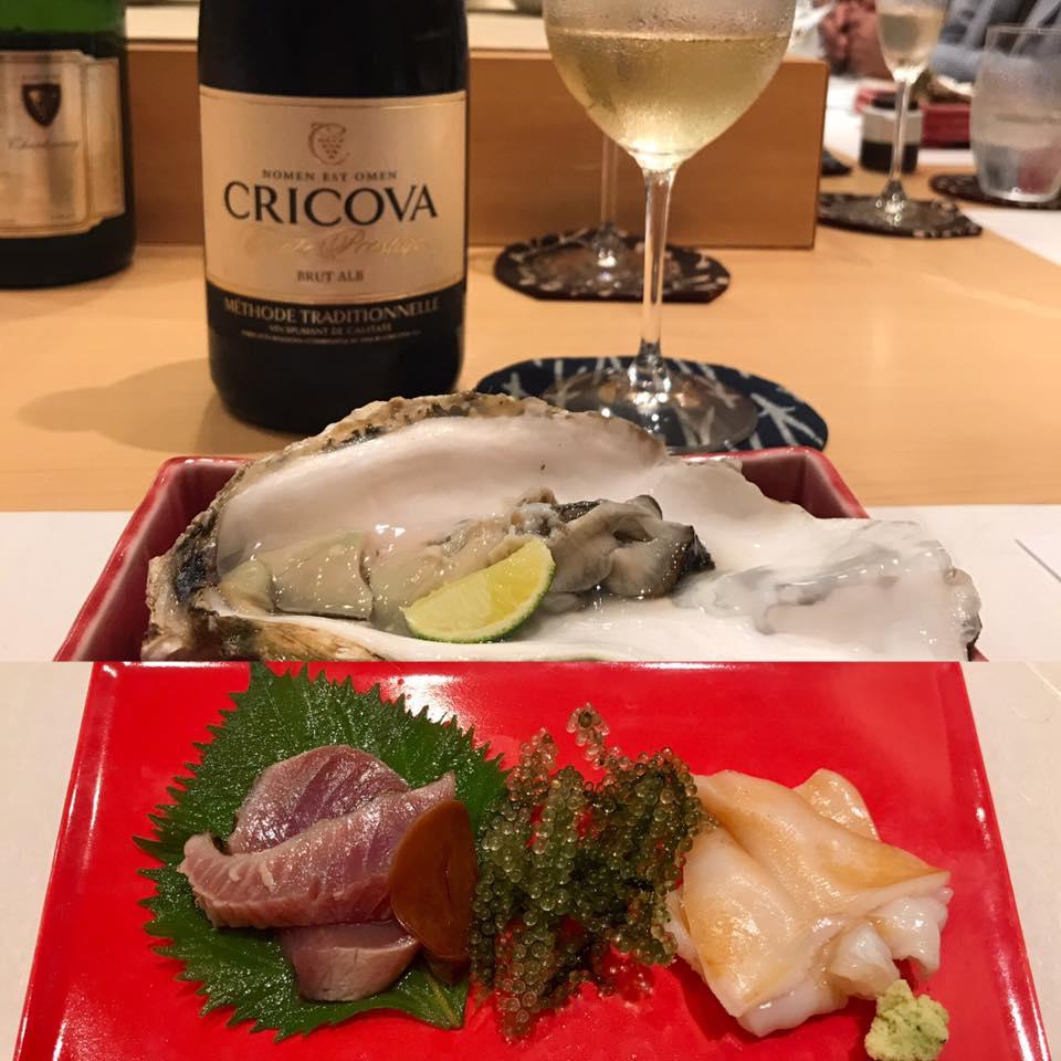 ステラマリー☆ワイン会「お鮨と泡のマリエージュ」