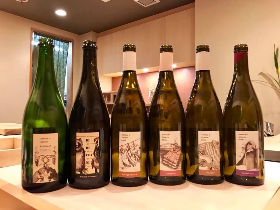 ステラマリー☆ワイン会「お鮨とアズアズ会」