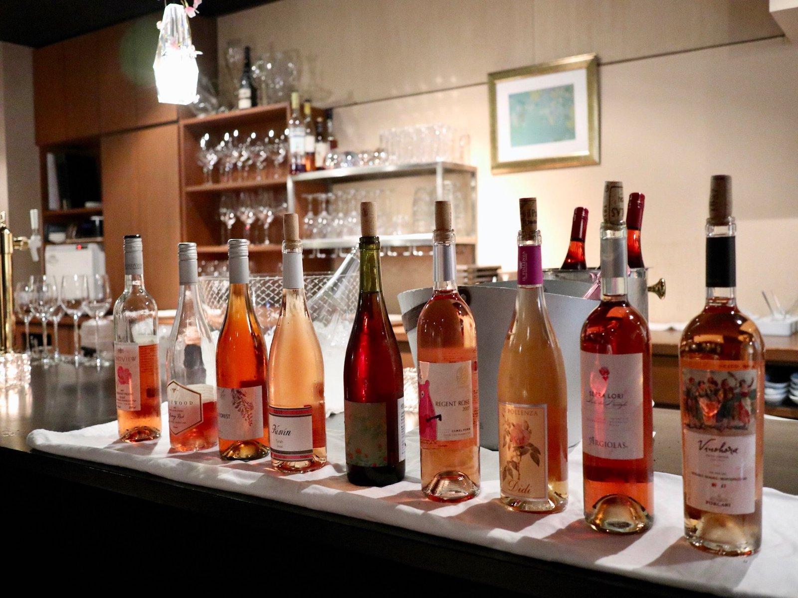 ステラマリー☆ワイン会「桜満開🌸ロゼワイン会」